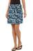 Patagonia W's Lithia Skirt Sunnyside Stripe: Ginger Berry (SYGB)